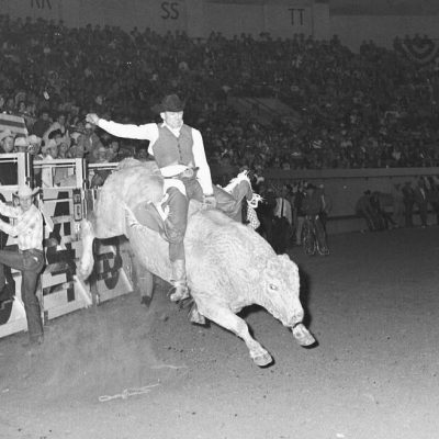 Ronnie Rossen on 404 (Col B) 8th go NFR 67